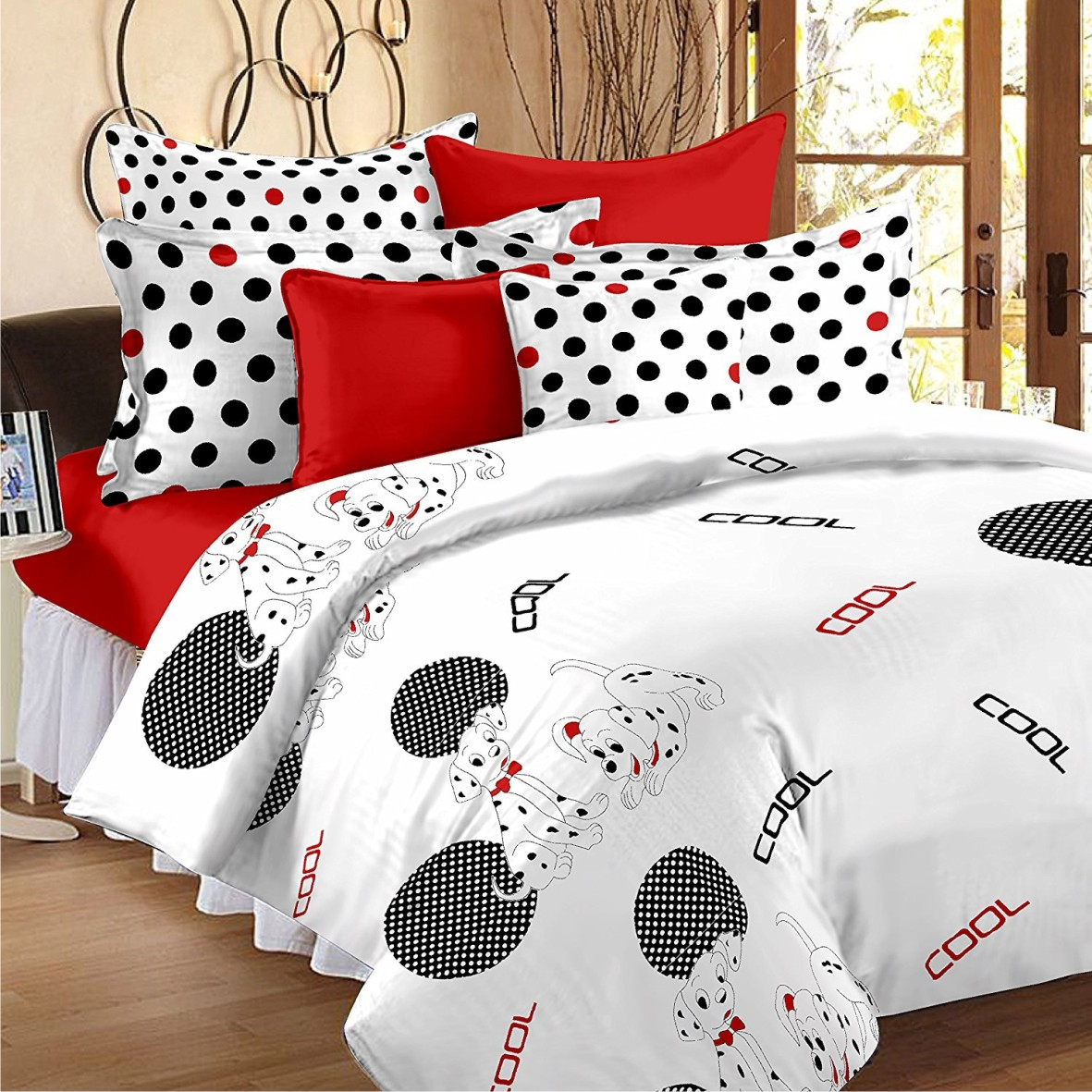 Home White Double Bedsheet [Gnp 513]