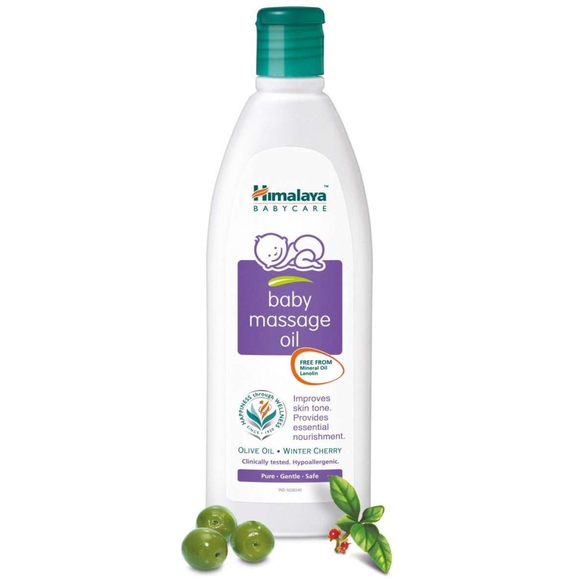 Himalaya Herbals Baby Massage Oil [Gnp 506] (200ml)